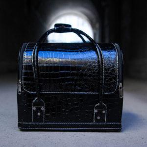 βαλιτσάκι-τσάντα με επένδυση Μαυρο