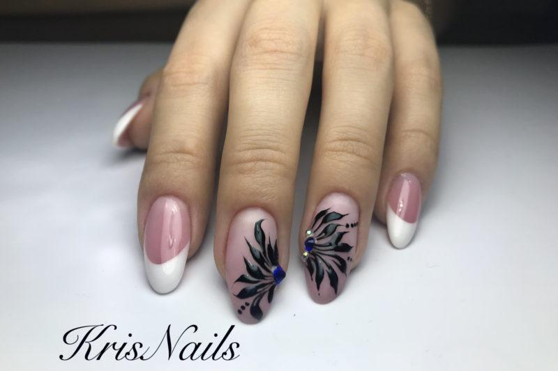 τεχνητα νυχια ζελ nail art γαλλικα