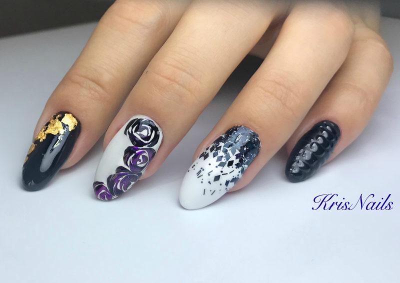 τεχνητα νυχια acrygel polygel ενισχυση nail art