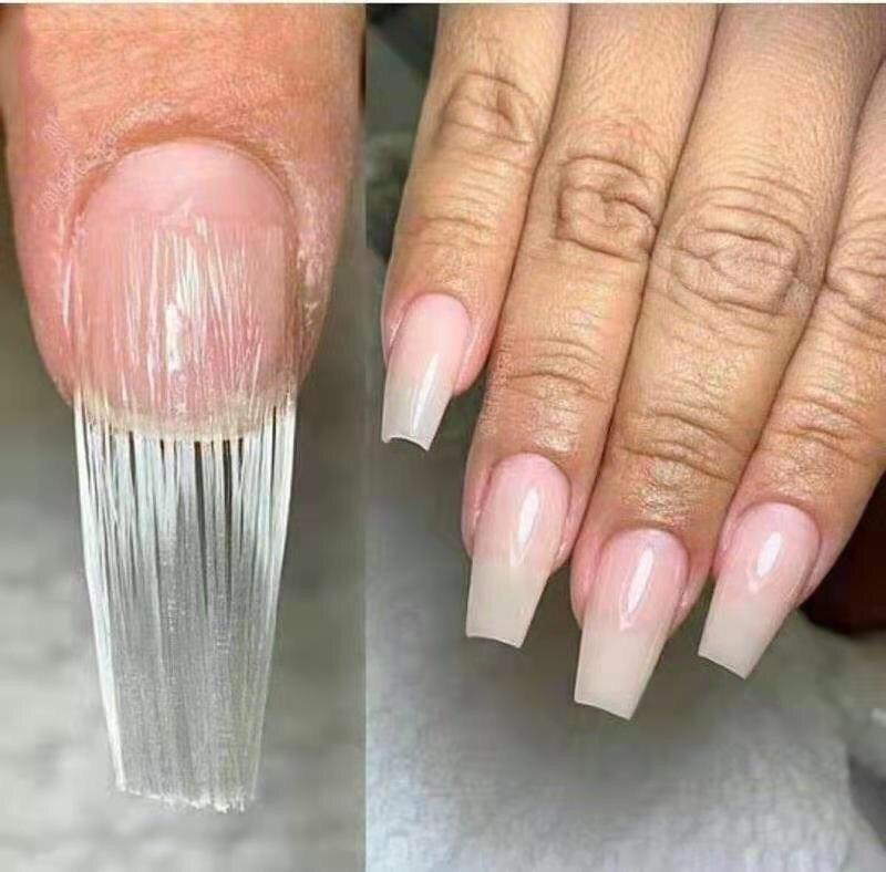 Ίνες fiberglass για Gel 10 τεμ