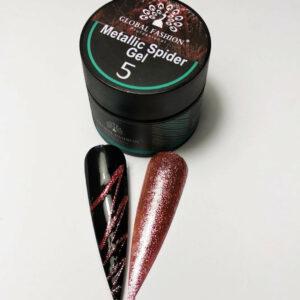 Metallic Spider Gel Global Rose