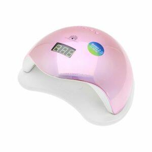 Φουρνάκι UV / Led Global Fashion 48W Rainbow 5 Plus Pink