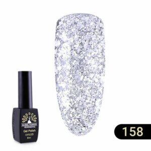 Ημιμόνιμο Βερνίκι Global Fashion Shine 8ml 158