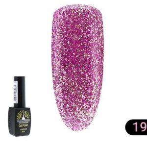 Ημιμόνιμο Βερνίκι Global Fashion Shine 8ml 19