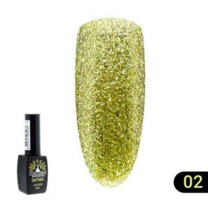 Ημιμόνιμο Βερνίκι Global Fashion Shine 8ml 02