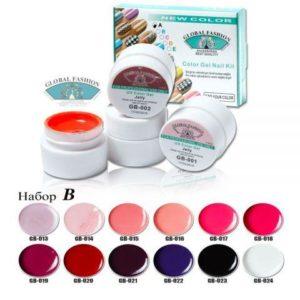 Color Gel Nail Σετ 12 χρωματων 5ml B