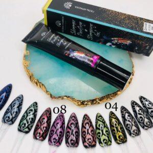 Stamping + Paint Gel Global Fashion Shimmer 01 8ml