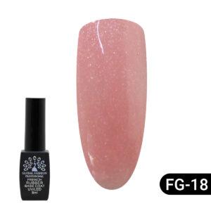 Rubber Base Coat Shimmer French Global Fashion 8ml 18