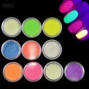 Neon pigment μανικιούρ σετ 12τμχ