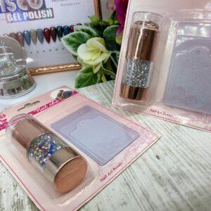 Σφραγίδα για Nail art Stamping νυχιών Σετ