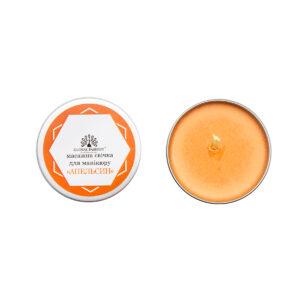 Κερί για Μασάζ Μανικιυρ πορτοκάλι