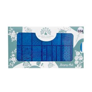Stamping plates 104