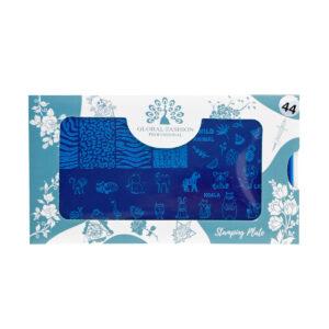 Stamping plates 044