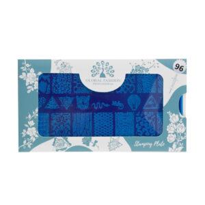 Stamping plates 096