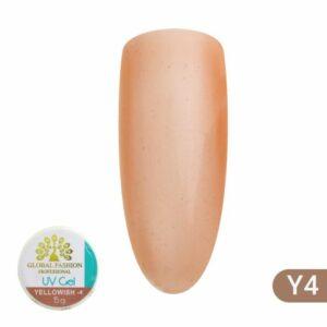 UV Gel Global Fashion 15gr Yellowish-4