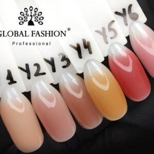 UV Gel Global Fashion 15gr Yellowish-1