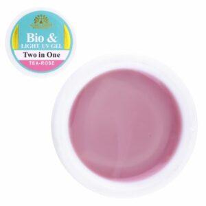 UV gel Two in One Snow Tea Rose 15gr