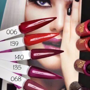 Gel Polish Global Fashion Premium 10ml Χρωματα